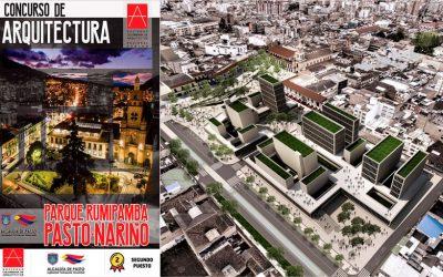 2do lugar en el concurso Público de Diseño Arquitectónico y Urbano para la Plaza Rumipamba en Pasto Nariño
