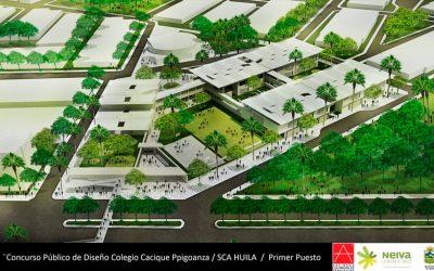1er lugar concurso público de diseño arquitectónico y urbano para el Colegio Cacique Pigoanza