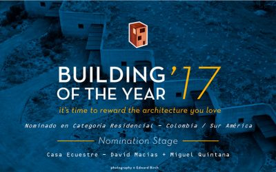 Nominación obra del año 2017 en la plataforma ArchDaily