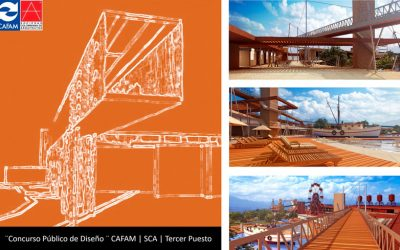 3er lugar concurso Público de diseño del Acua Parque Cafam en Melgar