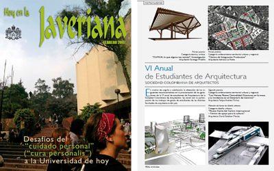 Mención de Honor obtenida en la VI anual de estudiantes de arquitectura