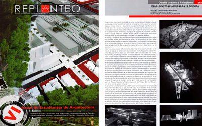 Publicación en la Revista Replanteo de la Sociedad Colombiana de Arquitectos
