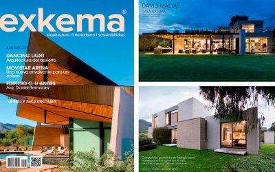 Publicación de uno de nuestros proyectos de vivienda en la Revista Exkema
